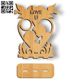 I love you photo frames file cdr and dxf free vector download for Laser cut