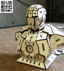 Iron man file cdr and dxf free vector download for Laser cut