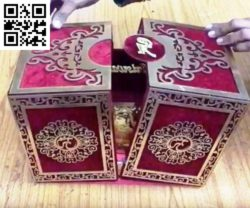 Islamic style box file cdr and dxf free vector download for Laser cut