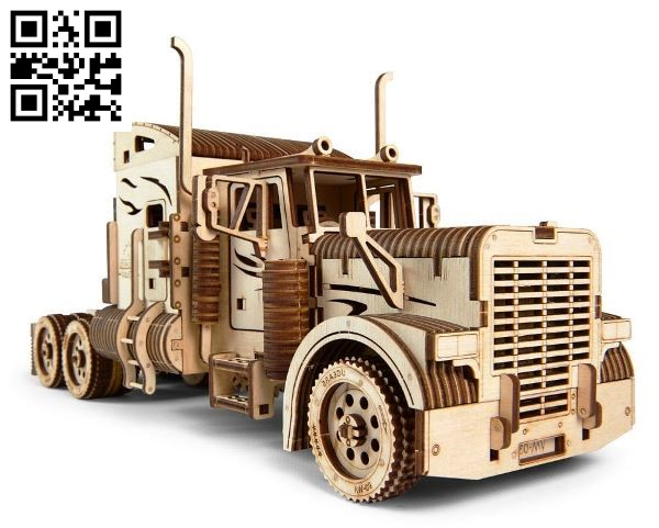 Kenworth W 900 file cdr and dxf free vector download for Laser cut