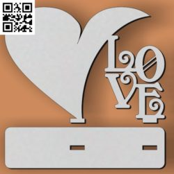 Love Statuette file cdr and dxf free vector download for Laser cut