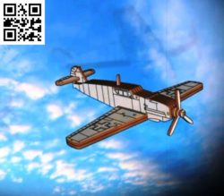 Messerschmitt aircraft file cdr and dxf free vector download for Laser cut