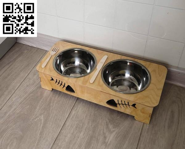 Pet food bowls file cdr and dxf free vector download for Laser cut