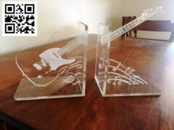 Rock guitar file cdr and dxf free vector download for Laser cut