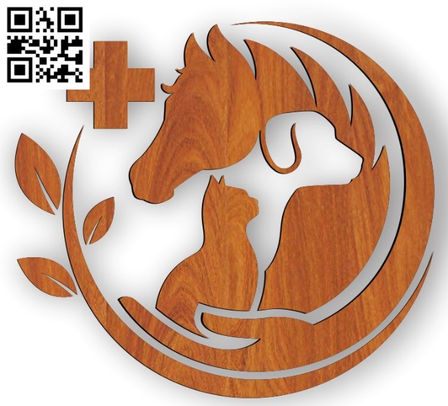 zoo icon file cdr and dxf free vector download for Laser cut