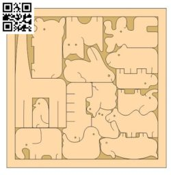zoo puzzle file cdr and dxf free vector download for Laser cut
