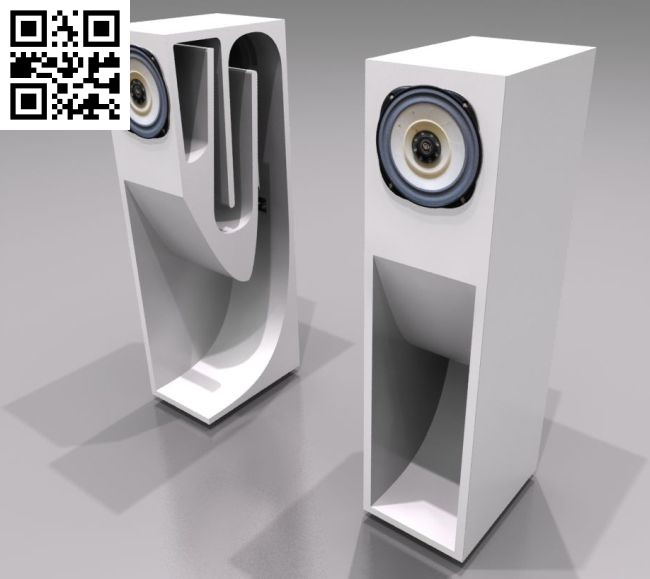 Acoustic speakers file cdr and dxf free vector download for Laser cut