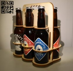Beer stand E0010559 file cdr and dxf free vector download for Laser cut