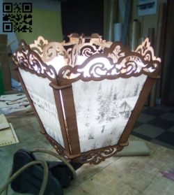 Lantern E0010533 file cdr and dxf free vector download for Laser cut