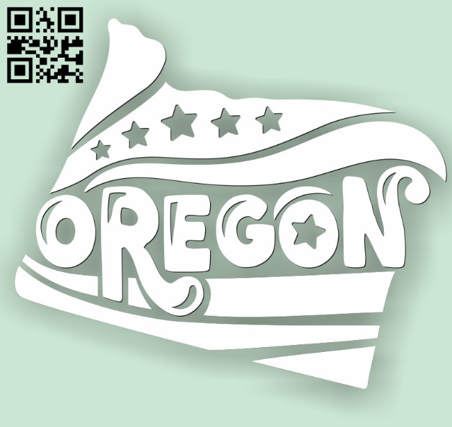 Oregon E0010528 file cdr and dxf free vector download for Laser cut