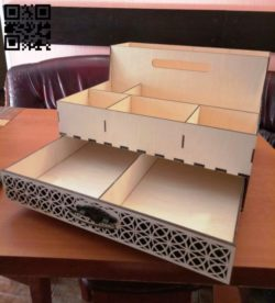 Organizer drawers E0010556 file cdr and dxf free vector download for Laser cut