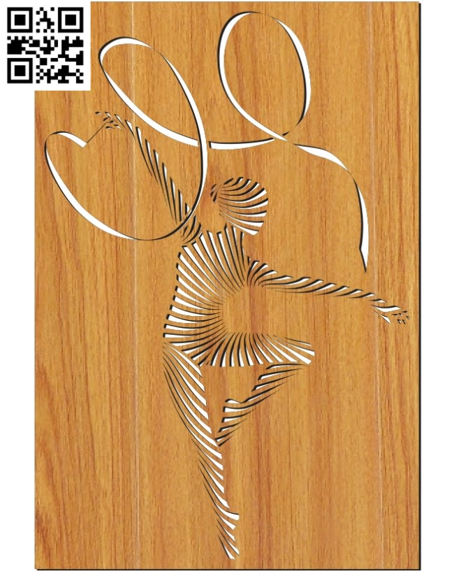 Panel Gymnast file cdr and dxf free vector download for Laser cut
