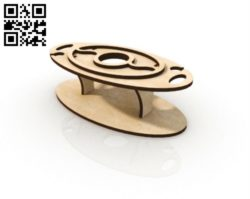 Small table E0010512 file cdr and dxf free vector download for Laser cut