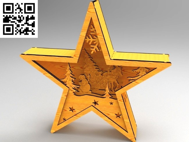 Star lights file cdr and dxf free vector download for Laser cut
