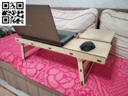 Table laptop stand file cdr and dxf free vector download for Laser cut