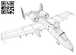 A19 aircraft E0010637 file cdr and dxf free vector download for laser engraving machines