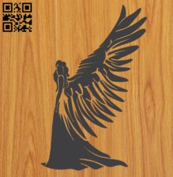 Angels E0010651 file cdr and dxf free vector download for laser engraving machines