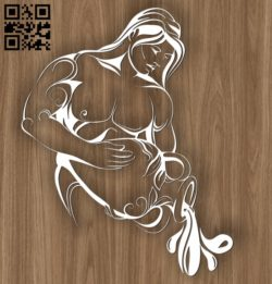 Aquarius zodiac E0010695 file cdr and dxf free vector download for laser engraving machines
