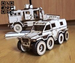 Armored vehicles E0010715 file cdr and dxf free vector download for laser cut