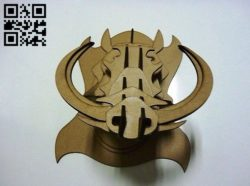 Boar head E0010612 file cdr and dxf free vector download for laser cut
