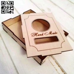 Box E0010899 file cdr and dxf free vector download for Laser cut