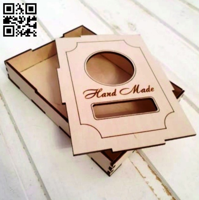 Box E0010900 file cdr and dxf free vector download for Laser cut