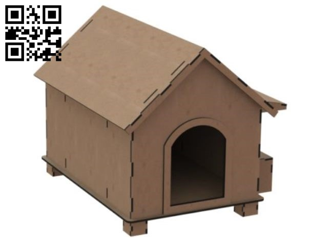Cat house E0010832 file cdr and dxf free vector download for Laser cut