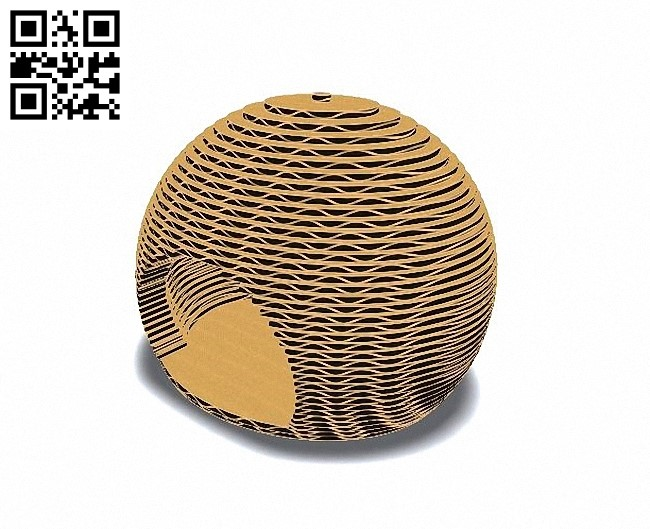 Cat sphere E0010668 file cdr and dxf free vector download for Laser cut