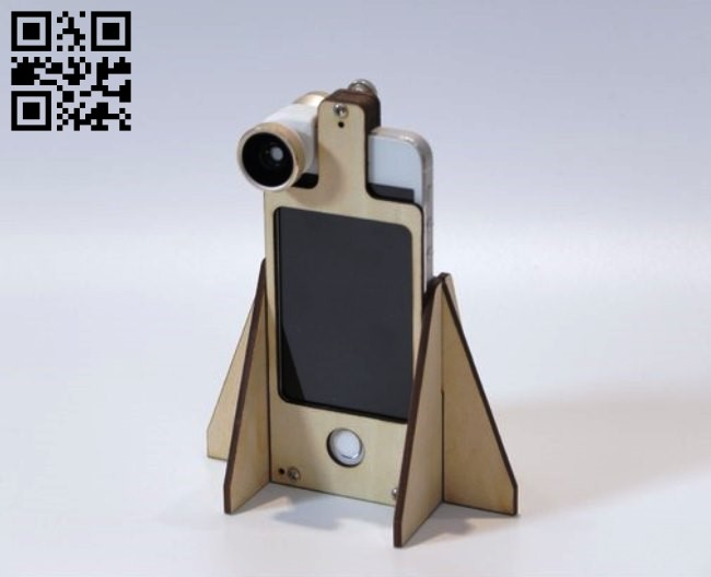 Centriphone for iphone E0010649 file cdr and dxf free vector download for Laser cut