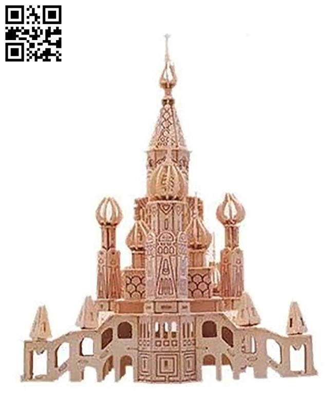 Church E0010901 file cdr and dxf free vector download for Laser cut