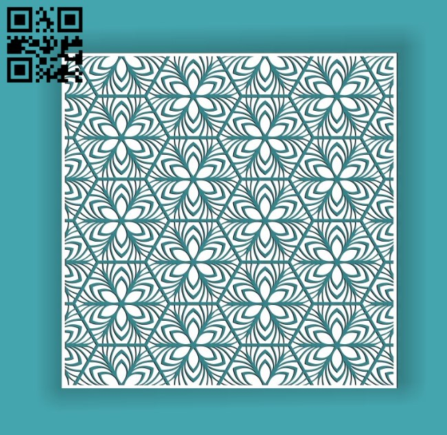 Design pattern screen panel E0010598 file cdr and dxf free vector download for Laser cut cnc