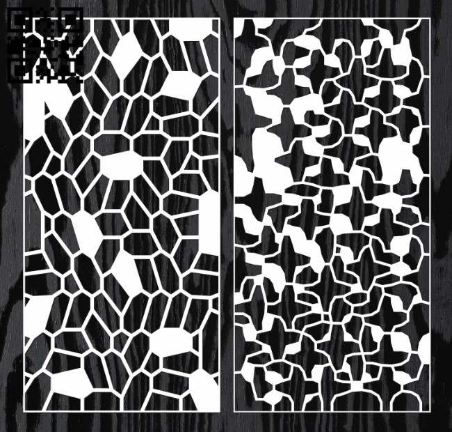 Design pattern screen panel E0010735 file cdr and dxf free vector download for Laser cut cnc