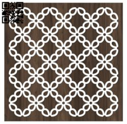 Design pattern screen panel E0010812 file cdr and dxf free vector download for Laser cut cnc