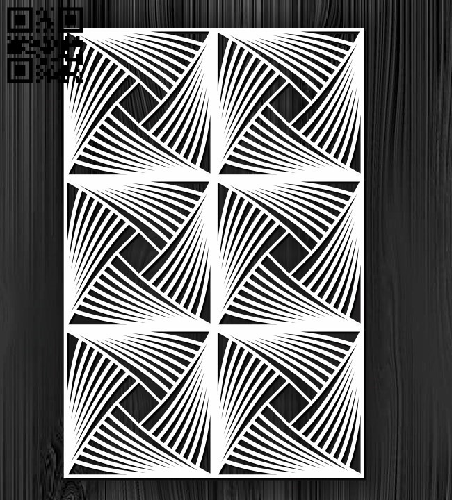 Design pattern screen panel E0010874 file cdr and dxf free vector download for Laser cut cnc
