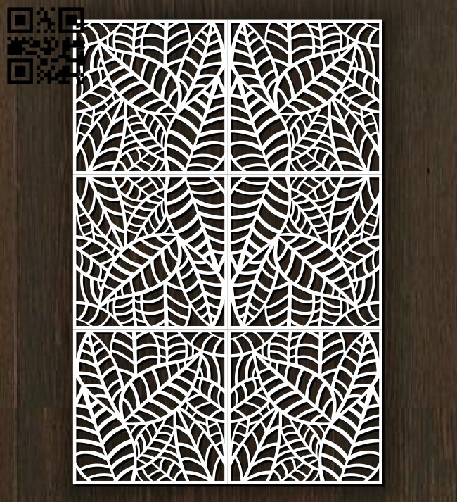 Design pattern screen panel E0010875 file cdr and dxf free vector download for Laser cut cnc