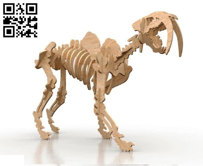 Dinosaurs E0010660 file cdr and dxf free vector download for Laser cut