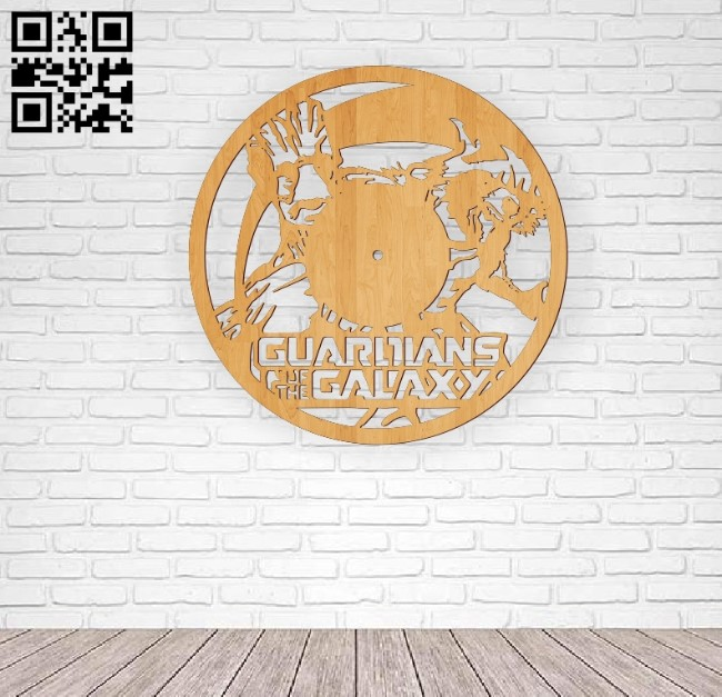 Galaxy guardian E0010573 file cdr and dxf free vector download for Laser cut