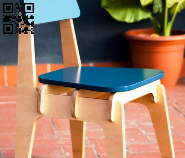 High chair E0010841 file cdr and dxf free vector download for Laser cut