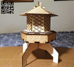 Incense stand E0010648 file cdr and dxf free vector download for Laser cut