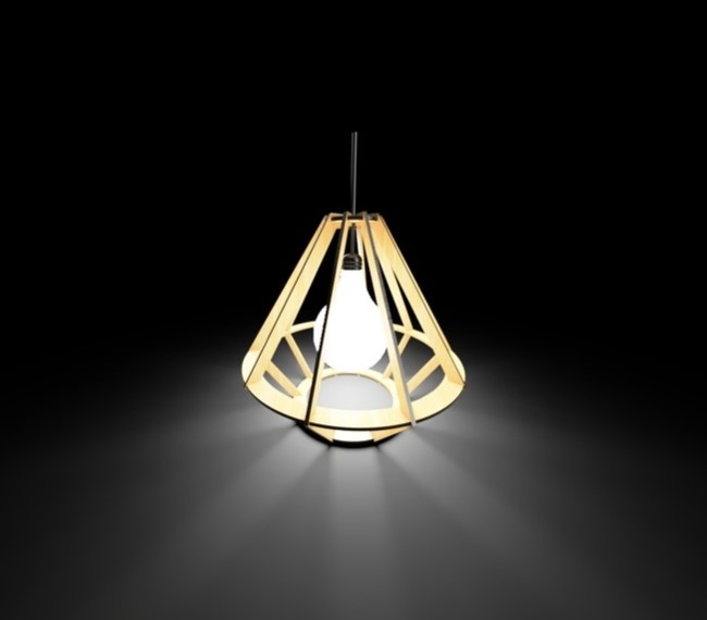 Lamp E0010724 file cdr and dxf free vector download for laser cut