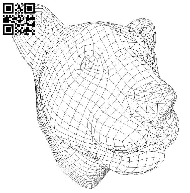 Lion E0010639 file cdr and dxf free vector download for laser engraving machines
