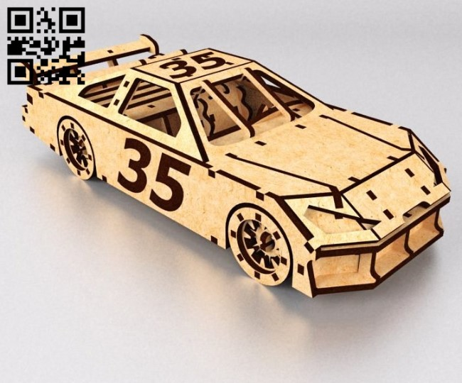 Nascar E0010719 file cdr and dxf free vector download for laser cut