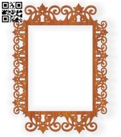 Photo frames E0010583 file cdr and dxf free vector download for Laser cut
