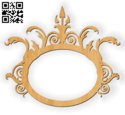 Photo frames E0010584 file cdr and dxf free vector download for Laser cut