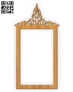 Photo frames E0010585 file cdr and dxf free vector download for Laser cut
