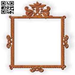 Photo frames E0010586 file cdr and dxf free vector download for Laser cut