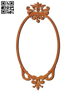Photo frames E0010587 file cdr and dxf free vector download for Laser cut
