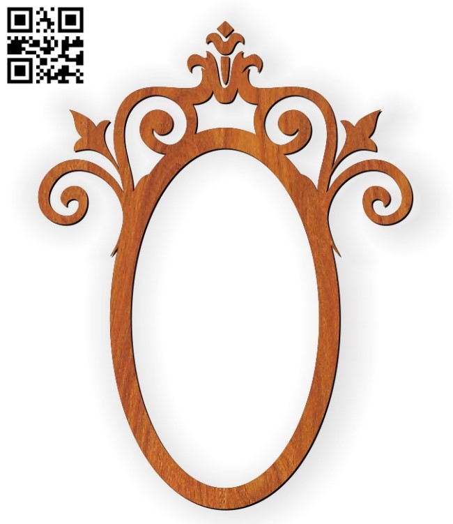 Photo frames E0010588 file cdr and dxf free vector download for Laser cut