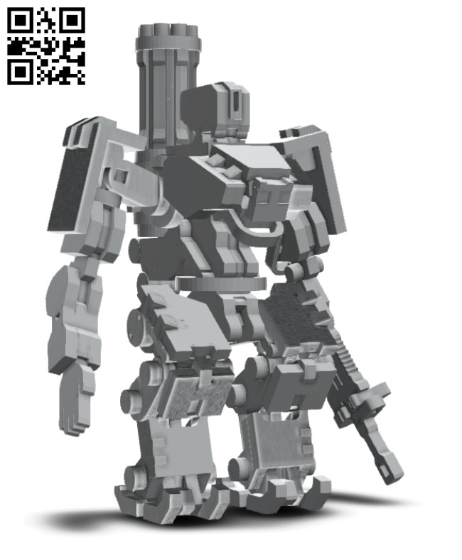 Robot E0010666 file cdr and dxf free vector download for Laser cut