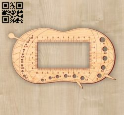 Ruler E0010567 file cdr and dxf free vector download for Laser cut